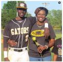 Sharonda Singleton and son